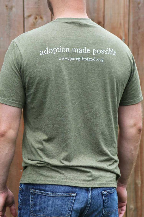 Olive Shirt Back
