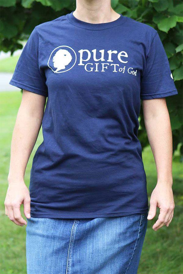 Blue Shirt Front