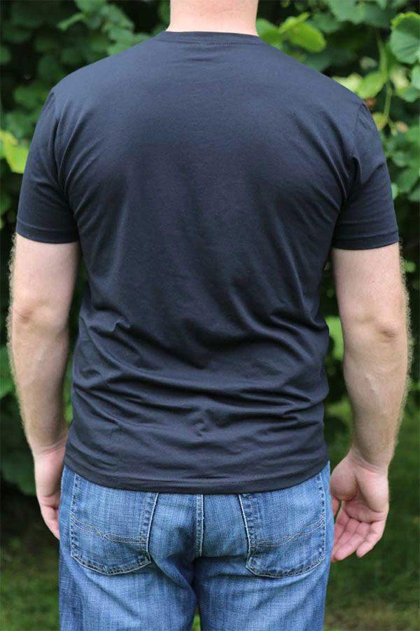 Black Shirt Back